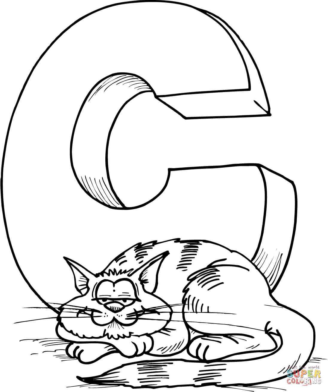 c for coloring free printable alphabet coloring pages for kids best c for coloring