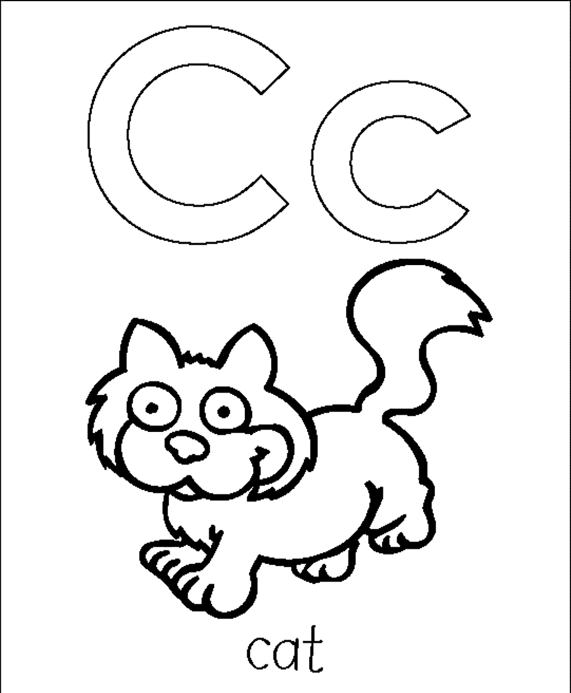 c for coloring printable alphabet c coloring pages coloringpagebookcom coloring for c