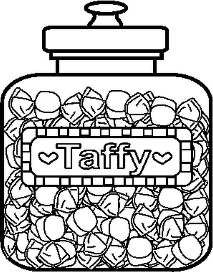 candy jar coloring page 17 best images about free coloring pages on pinterest coloring jar candy page