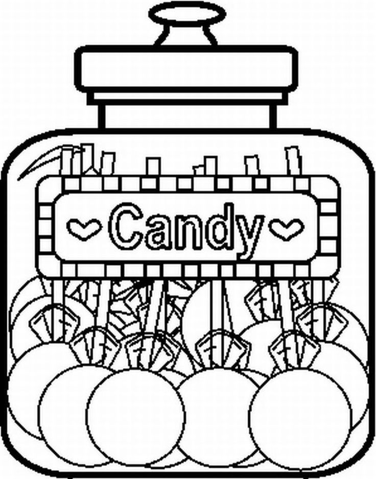 candy jar coloring page 27 best candy coloring pages for kids updated 2018 candy jar coloring page