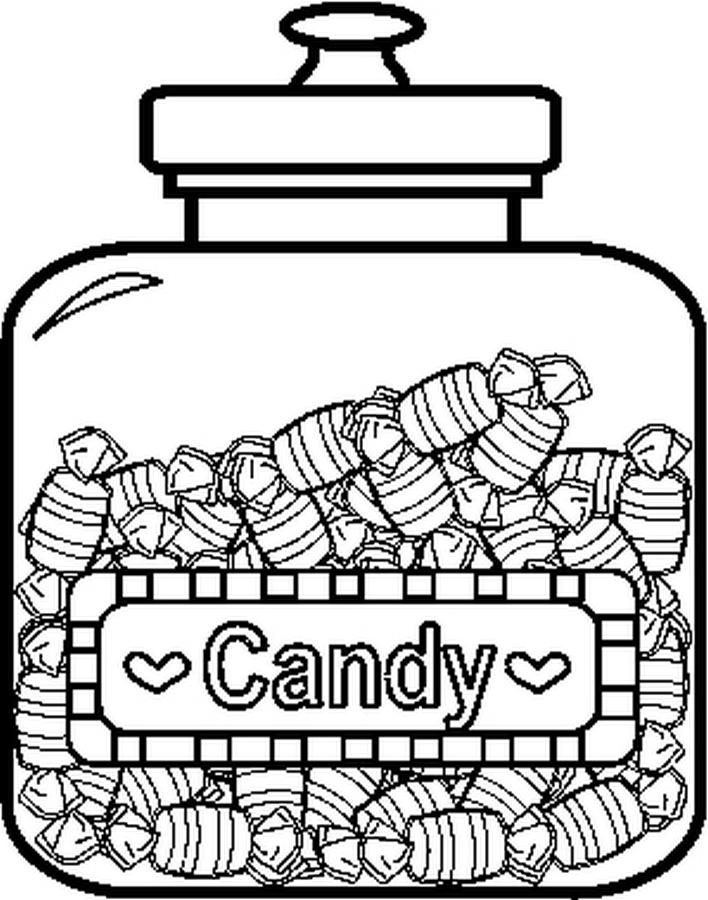 candy jar coloring page 27 best candy coloring pages for kids updated 2018 coloring candy page jar