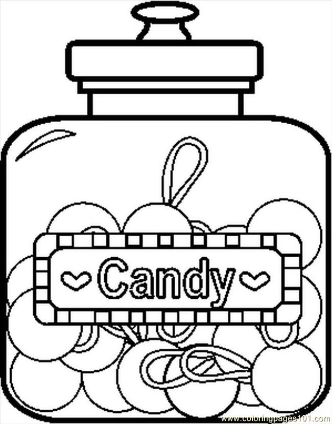 candy jar coloring page coloring pages tip jar coloring pages jar candy coloring page