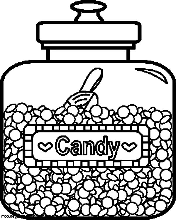 candy jar coloring page mason jar coloring pages page jar coloring candy