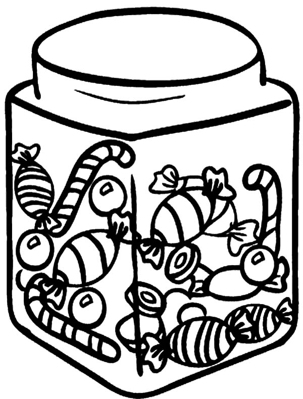 candy jar coloring page related image jar cookie jars coloring candy jar page