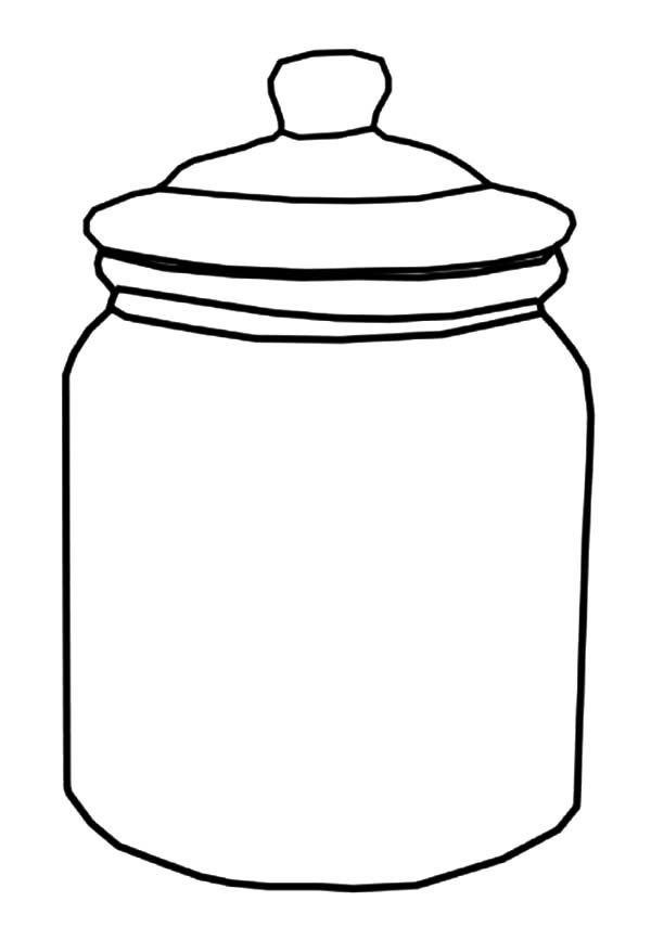 candy jar coloring page the sweets in the jar coloring pages kidsycoloring page coloring jar candy