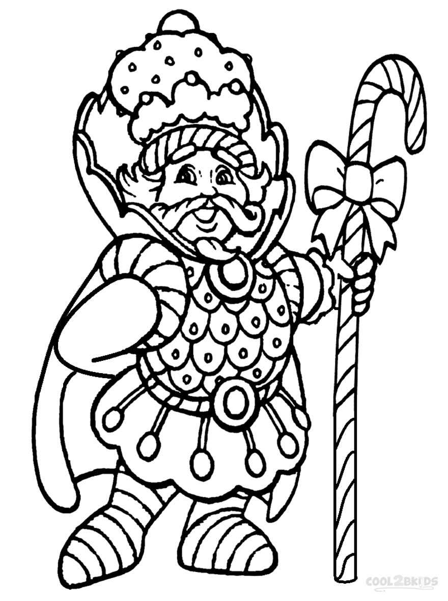 Candyland coloring sheets