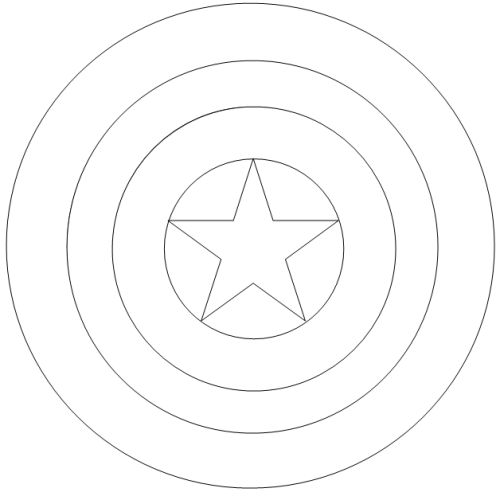 captain america shield coloring pages printable captain america coloring pages libro de colores escudo pages america shield printable coloring captain