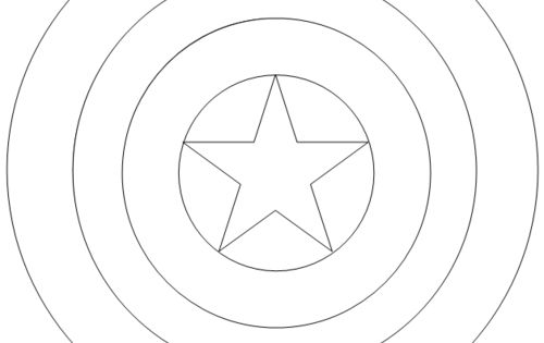 captain america shield coloring pages printable captain america shield coloring page httpdesignkids america pages coloring captain printable shield