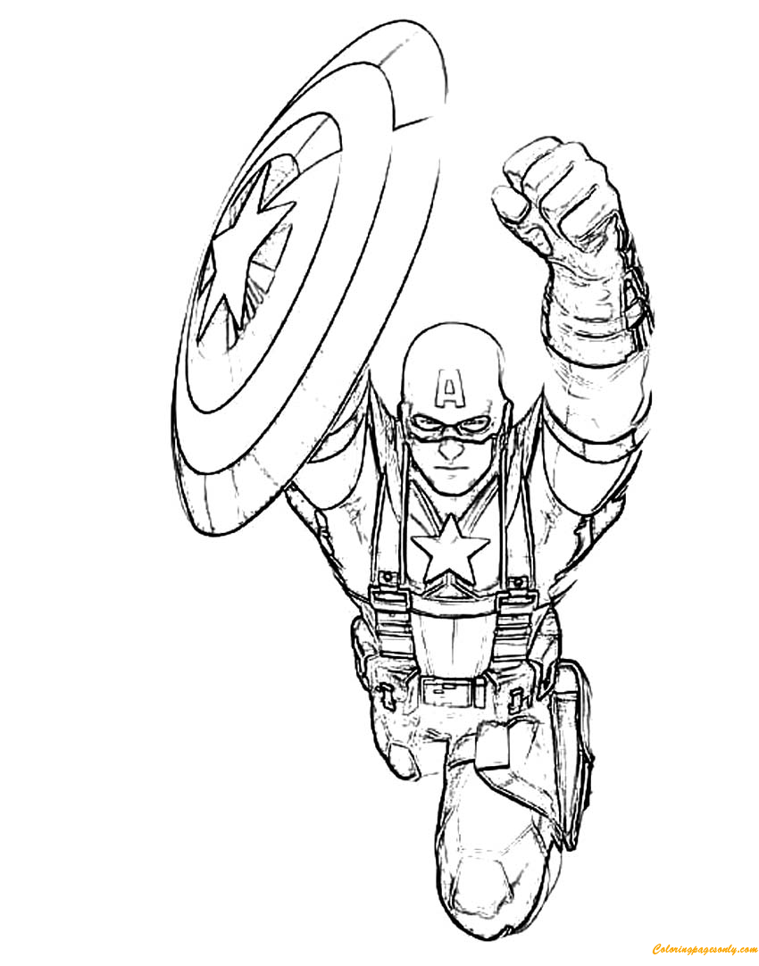 captain america shield coloring pages printable captain america shield coloring pages printable captain printable coloring captain pages shield america