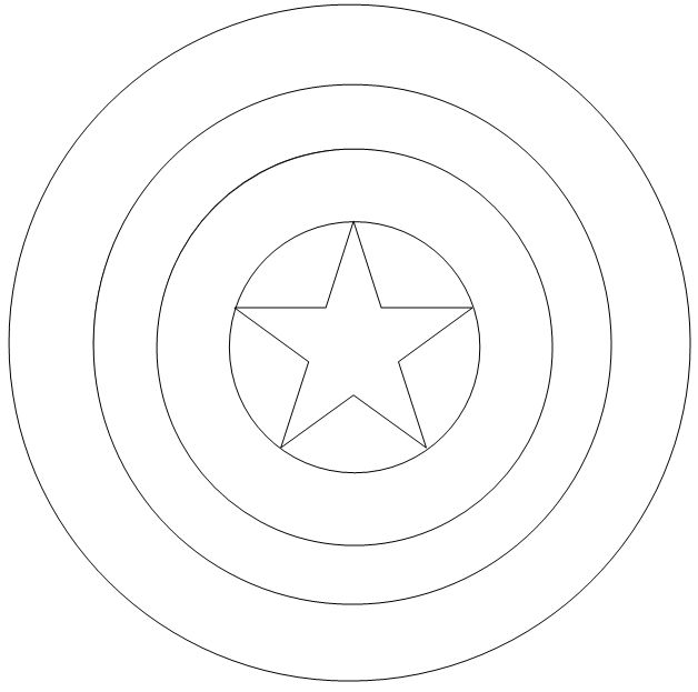 captain america shield coloring pages printable diy captain america shield free printable captain america printable captain pages shield coloring