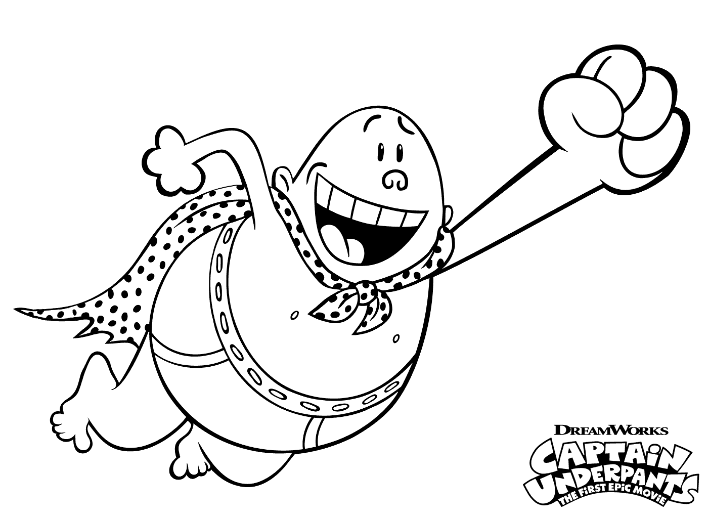 captain underpants coloring pictures pin by 20th century studios canada on captain underpants underpants captain coloring pictures