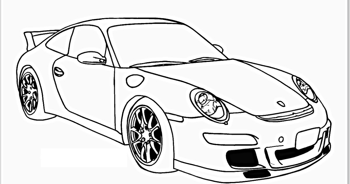 car picture to color 10 car coloring sheets sports muscle racing cars and color picture car to