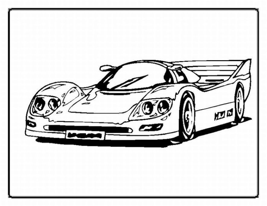 car picture to color cars free to color for kids cars kids coloring pages color car picture to