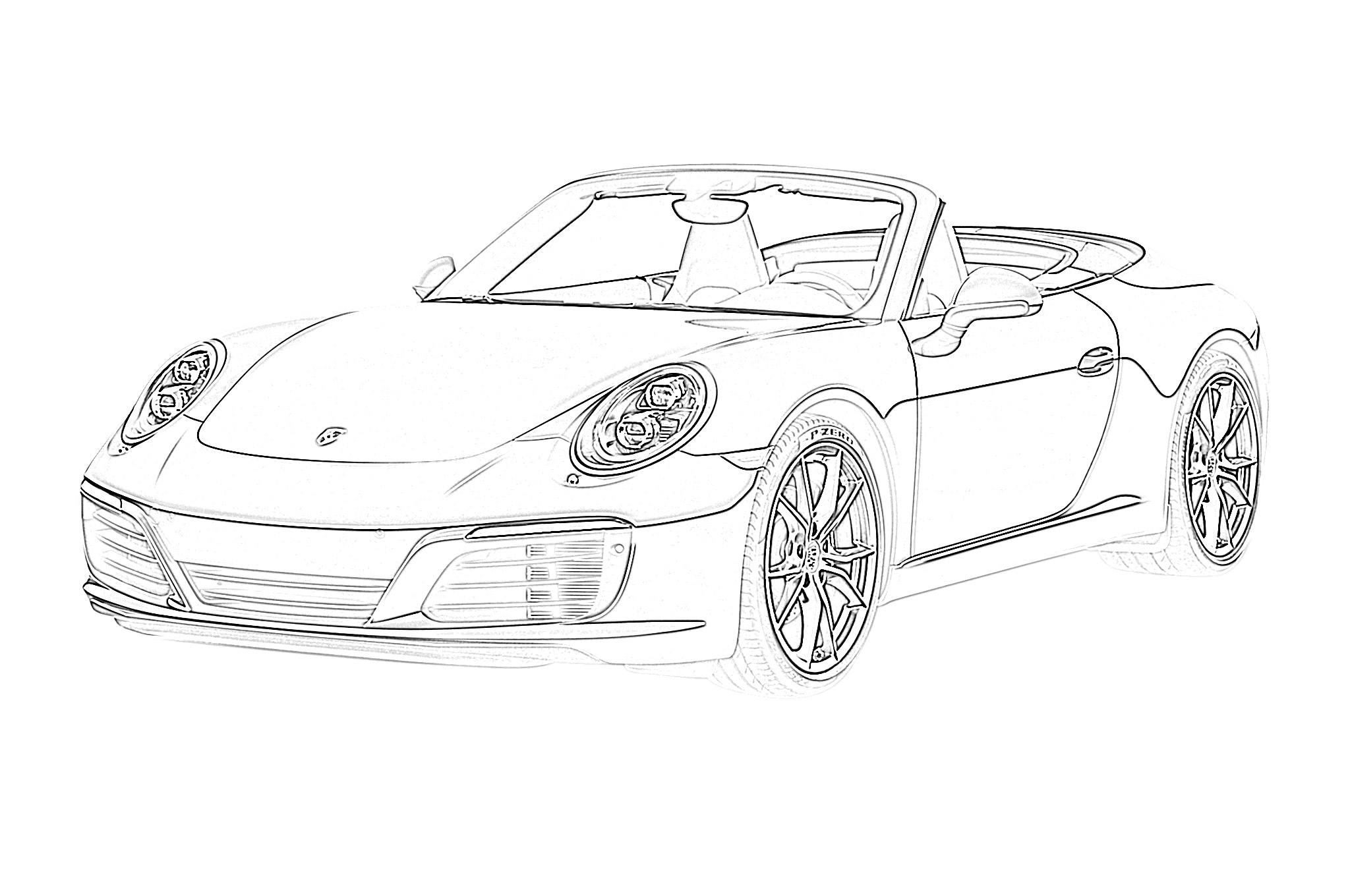 car picture to color coloring pages racecars coloring pages car picture to color