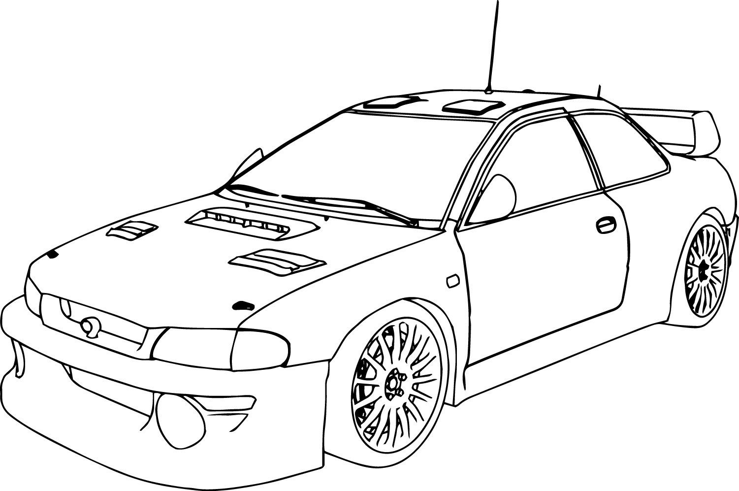 car picture to color free printable sports coloring pages for kids color car picture to
