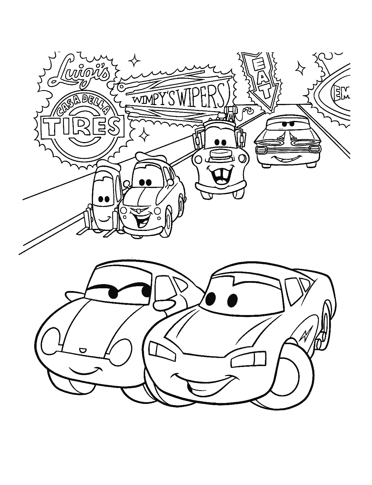cars movie colouring pages remember the movie cars coloring this picture of lightning pages cars movie colouring