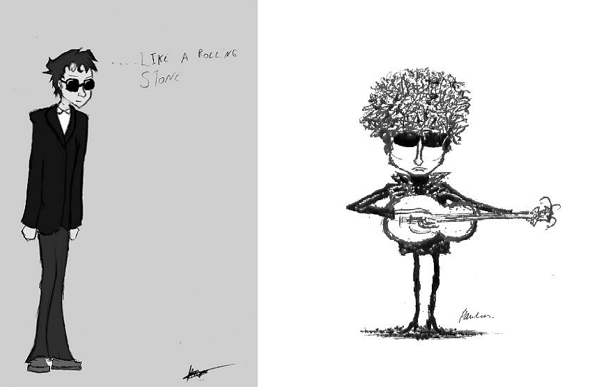 cartoom drawings bob dylan cartoon drawings part 1 nsf music magazine cartoom drawings