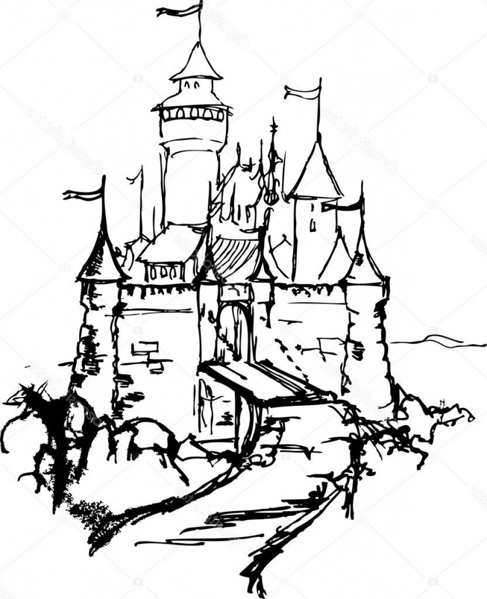 cartoon castle easy kids drawing lessons how to draw a cartoon castle castle cartoon