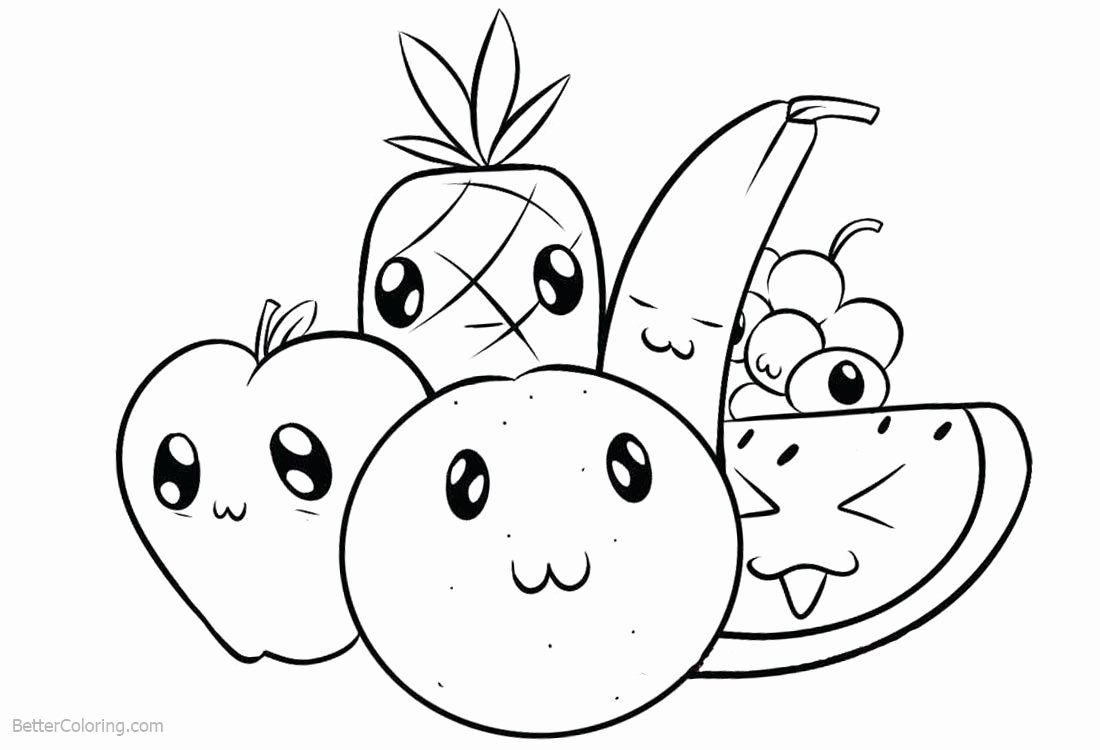 cartoon fruit coloring pages free printable fruit coloring pages for kids pages coloring fruit cartoon