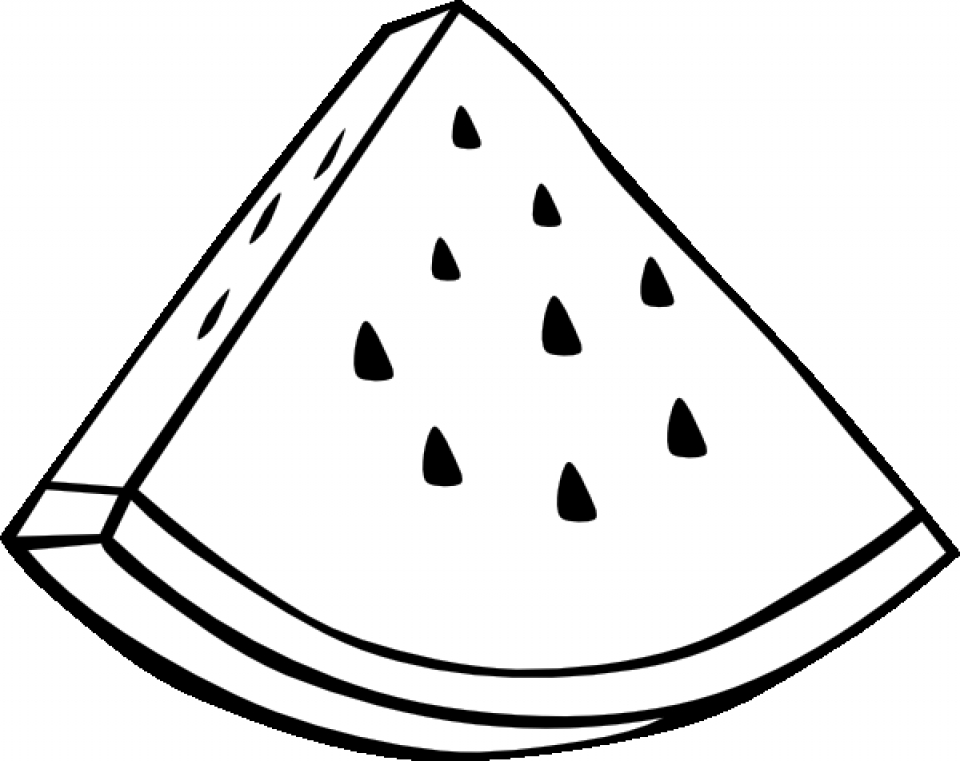Cartoon fruit coloring pages