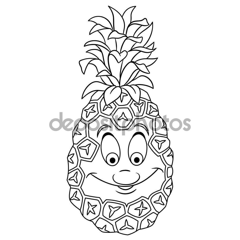 cartoon fruit coloring pages sketch of cartoon fruit coloring pages fruit coloring cartoon pages