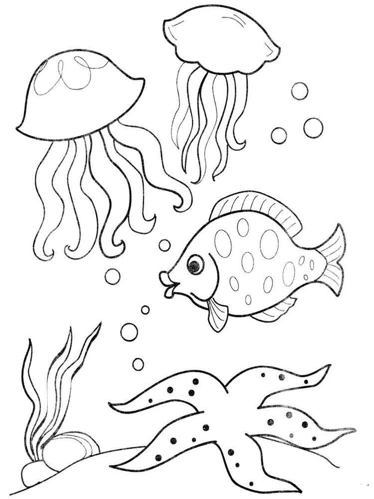 cartoon underwater coloring pages sea animal coloring pages to download and print for free cartoon pages underwater coloring
