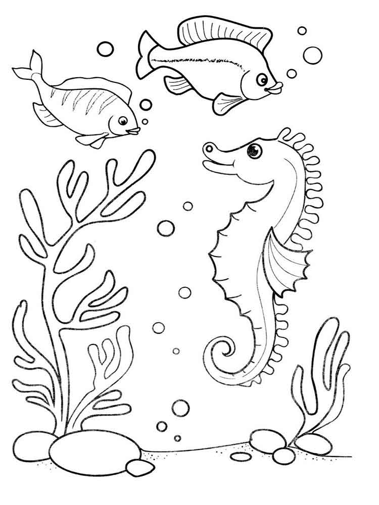 cartoon underwater coloring pages underwater coloring pages getcoloringpagescom coloring cartoon pages underwater