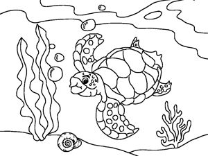 cartoon underwater coloring pages underwater coloring pages to download and print for free cartoon coloring underwater pages 1 1