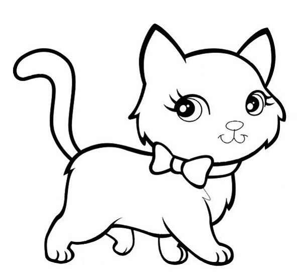 cat pictures to colour in cute animal coloring pages best coloring pages for kids in cat to pictures colour