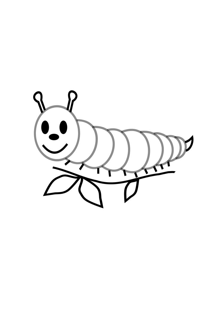 caterpillar coloring pages get this the very hungry caterpillar coloring pages free coloring caterpillar pages