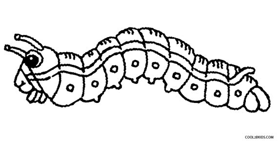 caterpillar coloring pages realistic caterpillar coloring and drawing pages pages coloring caterpillar