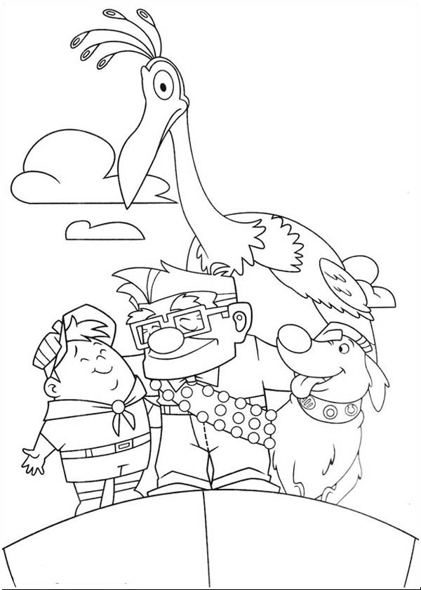 character coloring pages disney up main character coloring page netart coloring pages character