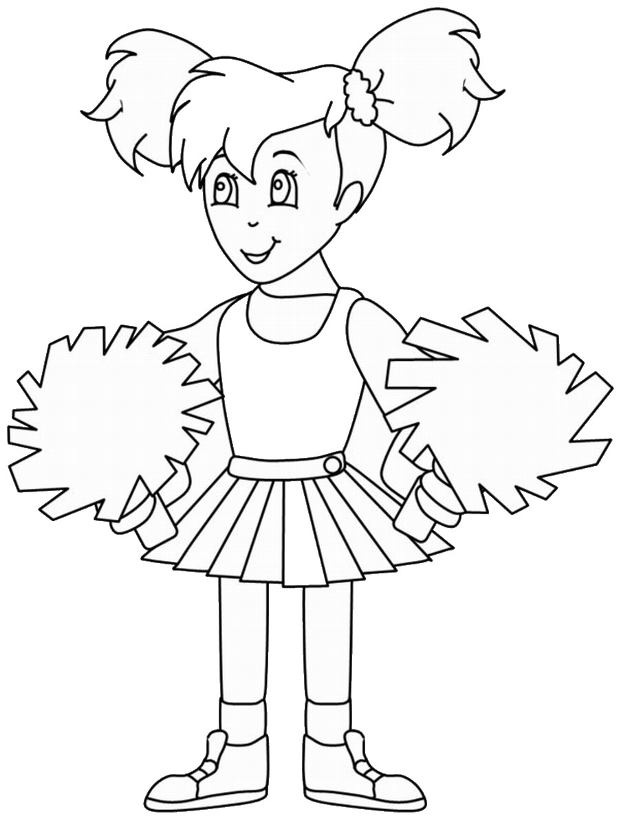 cheer coloring pages cheer coloring pages cheer coloring pages