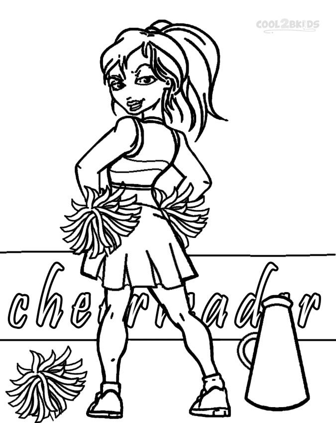 cheer coloring pages cheerleading coloring pages birthday printable coloring pages cheer 1 1