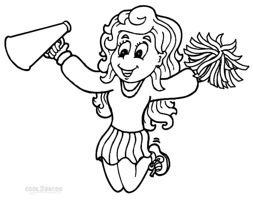 cheer coloring pages free cheerleading coloring pages pages cheer coloring