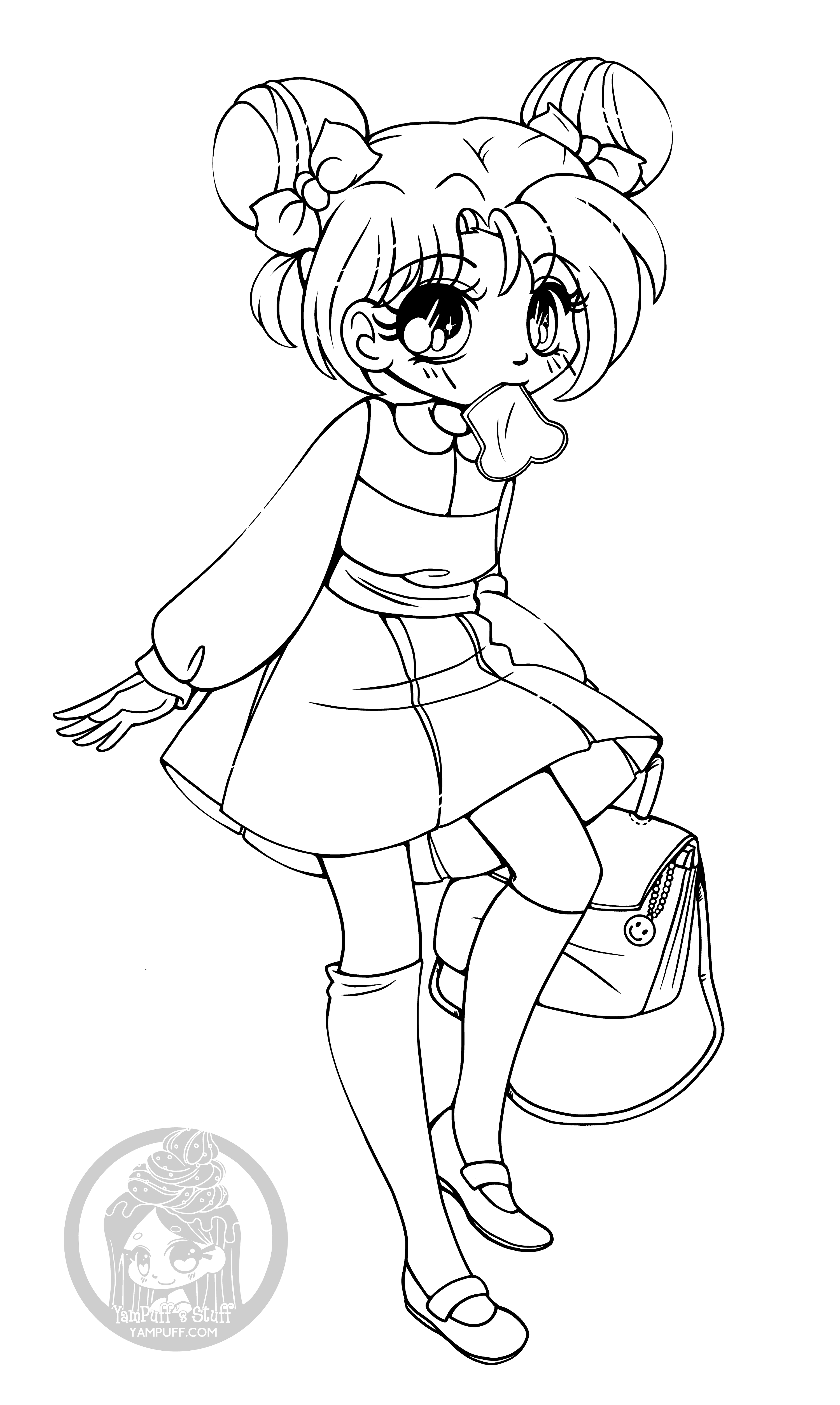 chibi girl coloring pages 25 ideas for chibi coloring pages girl home inspiration coloring chibi pages girl
