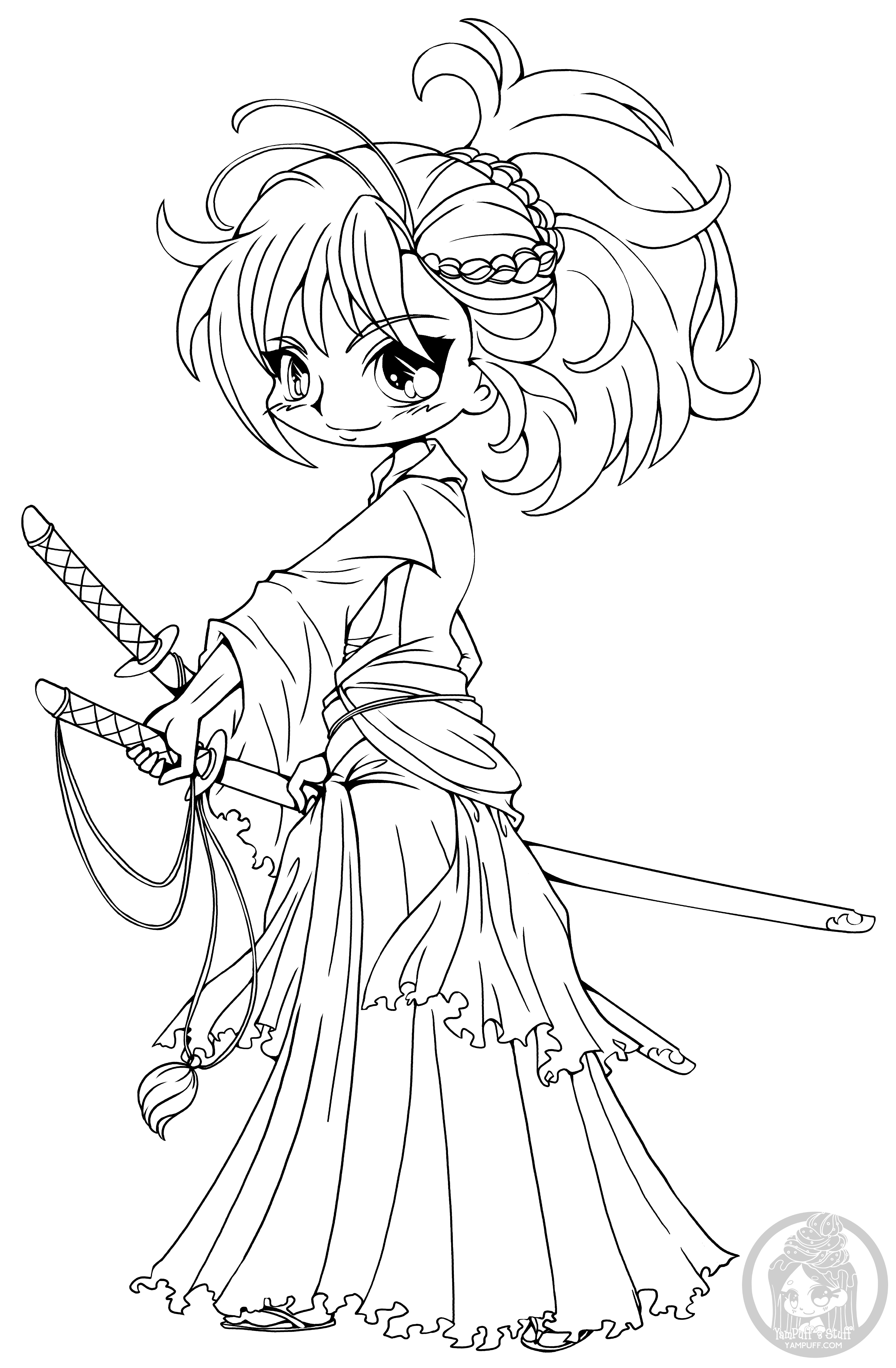 chibi girl coloring pages anime chibi princess coloring pages coloriage manga chibi coloring girl pages
