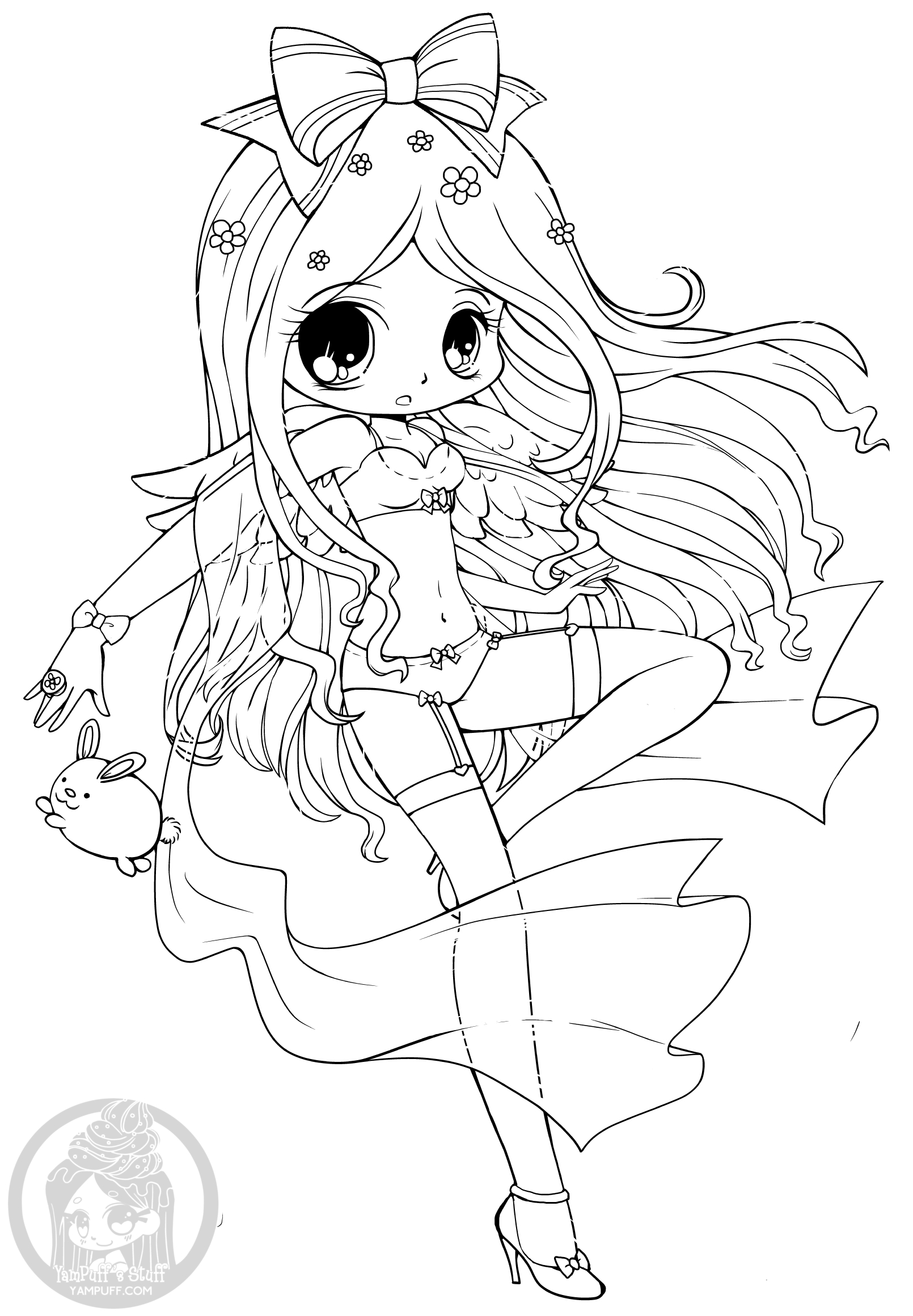 chibi girl coloring pages click on a picture to make it larger then print it out coloring chibi pages girl