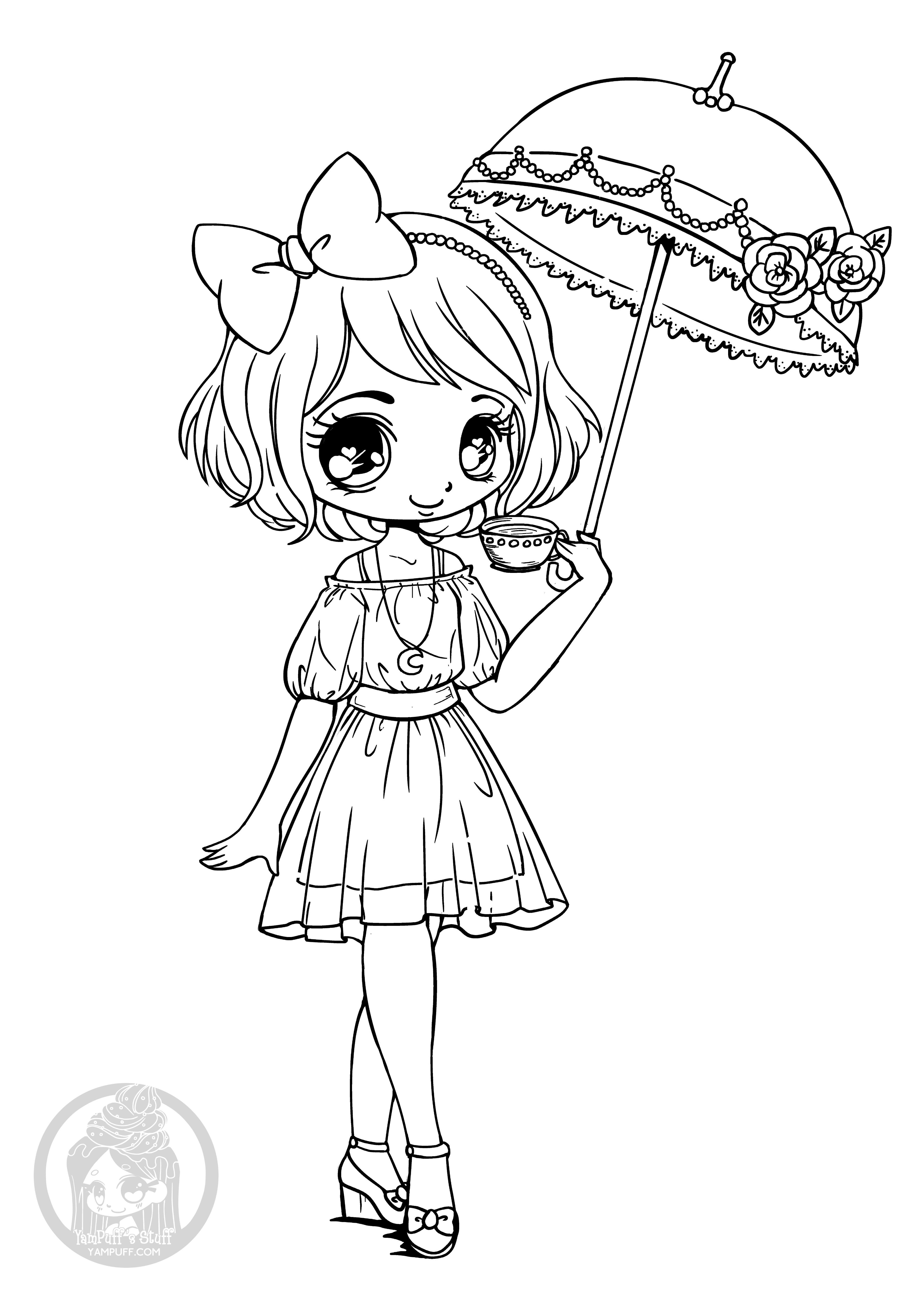 chibi girl coloring pages cute girls coloring pages coloring home pages girl coloring chibi