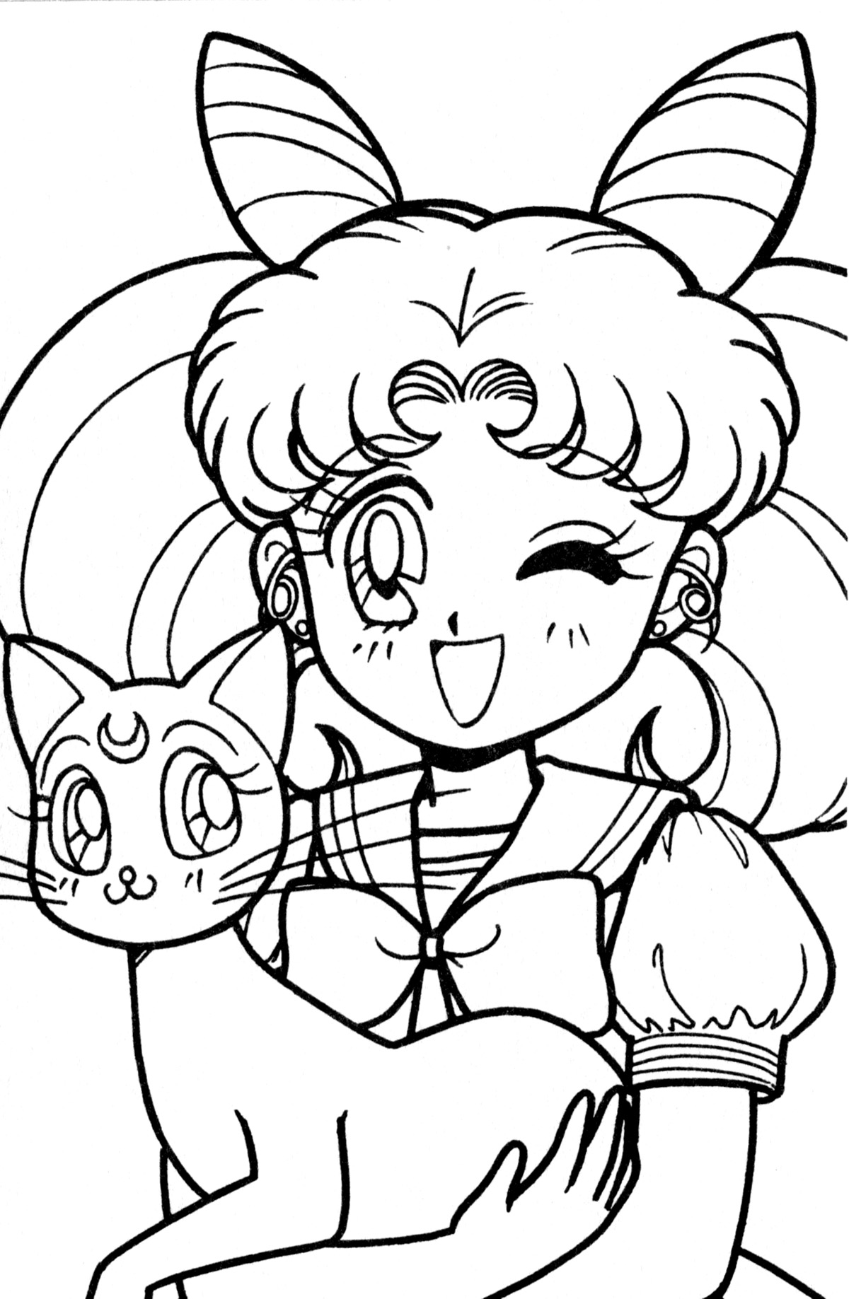 chibi sailor moon coloring pages lineart chibi sailor moon by the piratequeen on deviantart moon coloring pages sailor chibi