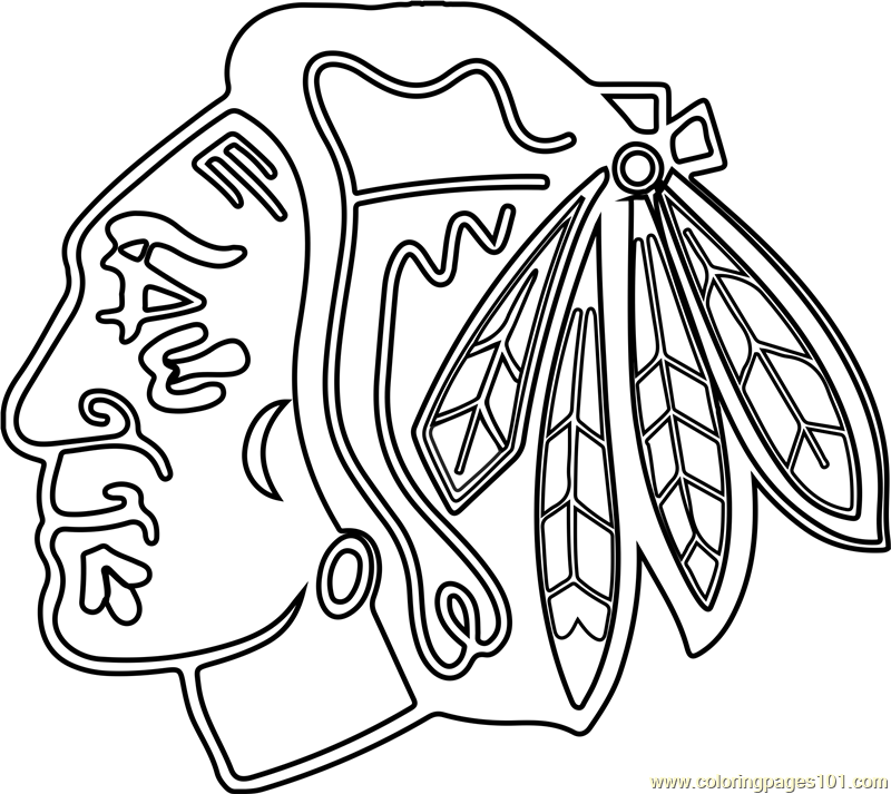 chicago blackhawks coloring pages chicago blackhawks coloring pages coloring home blackhawks chicago coloring pages