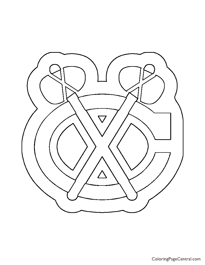 chicago blackhawks coloring pages chicago blackhawks logo coloring page1jpg 12001600 coloring pages blackhawks chicago