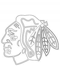 chicago blackhawks coloring pages chicago blackhawks logo dot to dot printable worksheet pages blackhawks coloring chicago