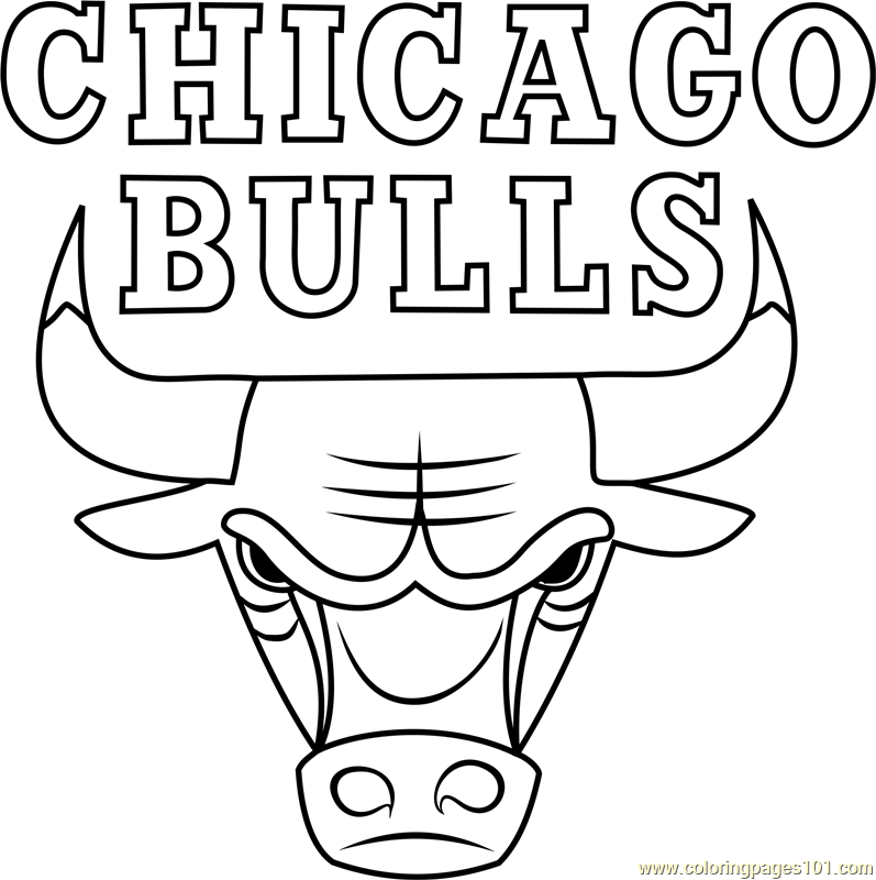 chicago bulls coloring pages bull printable coloring pages coloring home bulls pages coloring chicago