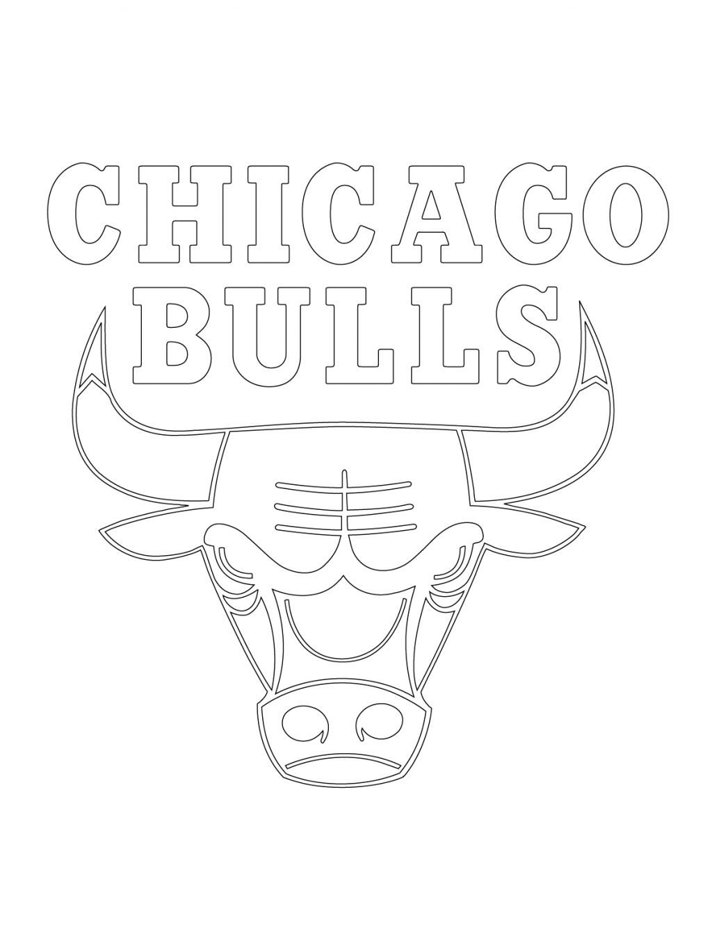 chicago bulls coloring pages bulls coloring logo pages 2020 check more at https chicago coloring pages bulls