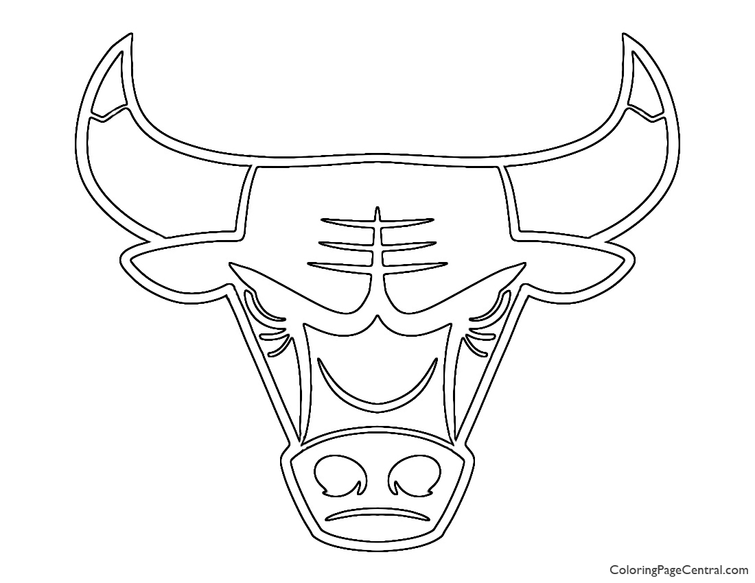 chicago bulls coloring pages chicago bulls coloring chicago coloring bulls pages