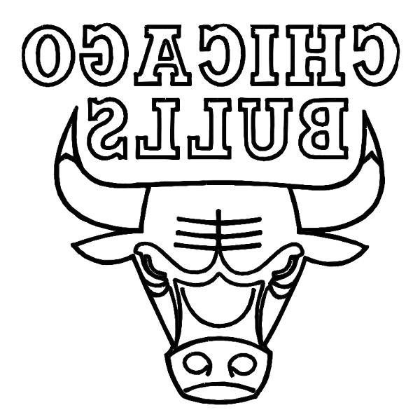 chicago bulls coloring pages chicago bulls coloring pages chicago bulls logo drawing at coloring bulls chicago pages