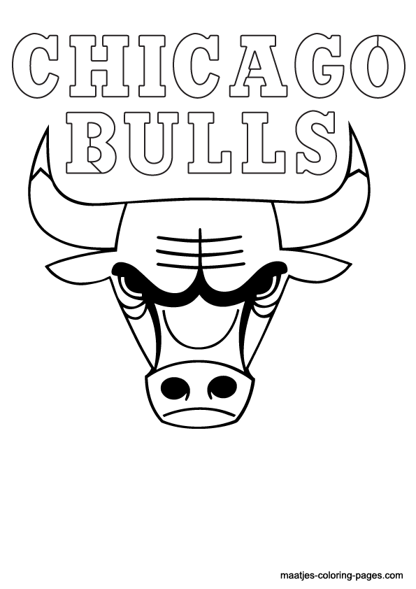 chicago bulls coloring pages chicago bulls coloring pages coloring bulls chicago pages