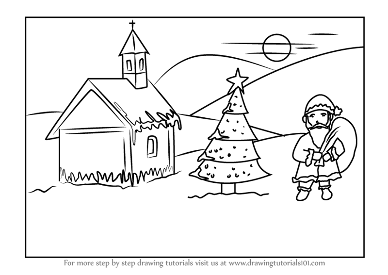 christmas drawings step by step 12 essential steps to awesome christmas drawings for drawings step step christmas by