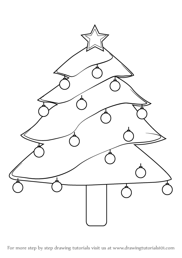 christmas drawings step by step how to draw a christmas tree skip to my lou by drawings step step christmas